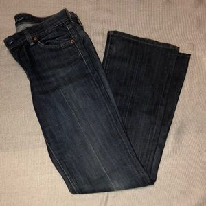 7 for all mankind bootcut jeans.